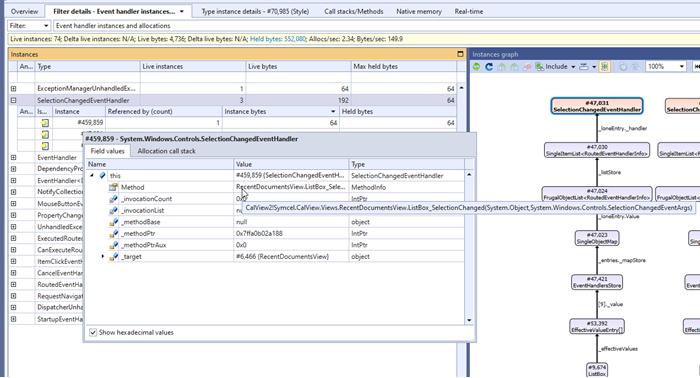 Identification of delegate target method