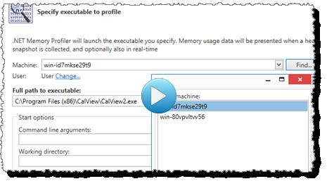 NET Memory Profiler Features