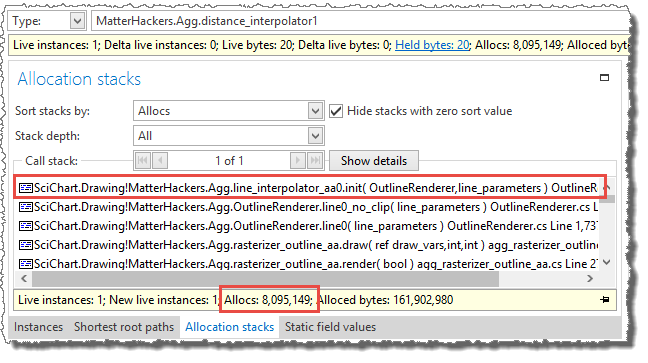 distance_interpolator1 allocation call stack